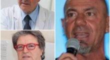 Mirandola, i protagonisti della manifestazione no Vax: dal mirandolese Giorgio Bellodi, ai medici negazionisti Roberto Petrella e Mariano Amici