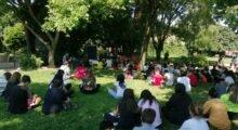 Novi, lezioni scolastiche all'aperto al Parcobaleno