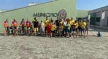 Concordia, Alessandro Colombi ha finito il suo viaggio in bici per promuovere il basket inclusivo