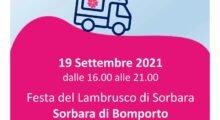 Vaccinazioni in movimento, il 19 settembre camper Ausl alla Festa del Lambrusco di Sorbara