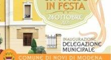 Festa grande a Novi per l'inaugurazione del nuovo edificio della Delegazione municipale
